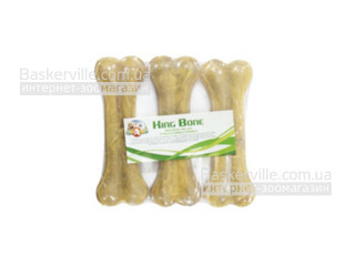 King Bone. Buffalo. Жилистая кость для собак, 3 шт, 10 см