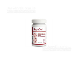 DOLFOS GEPADOL Витамины для защиты и восстановления печени у собак и кошек, 60 г