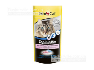 GimCat. Topinis Mix. Лакомства для активности кошек, 40 г