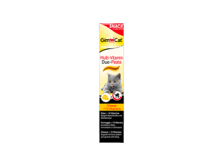 GimСat. Multi-Vitamin Duo-Paste. Витаминизированная паста с сыром, 50 г
