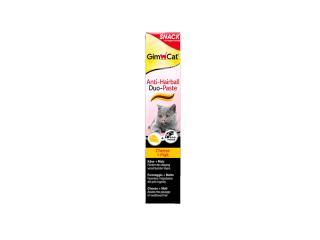 GimСat. Anti-Hairball Duo-Paste. Паста для выведения шерсти с сыром, 50 г