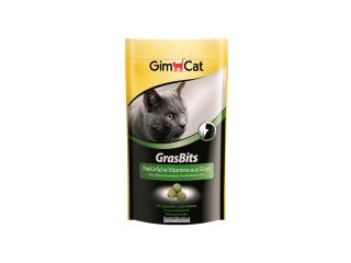 GimСat Gras Bits. Витаминизированные таблетки с травой, 40 г
