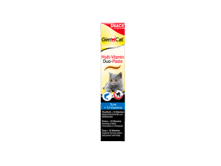 GimСat. Multi-Vitamin Duo-Paste. Витаминизированная паста с тунцом, 50 г
