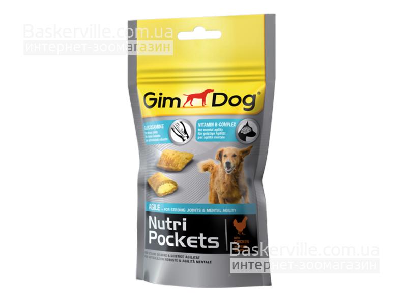 GimDog. Nutri Pockets Agile. Витамины для суставов собаки, 45г