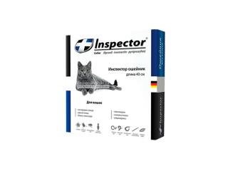Inspector Collar. Ошейник от паразитов для кошек