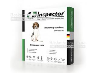 Inspector. Ошейник от паразитов для средних собак, 65 см