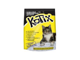 Kotix. Силикагелевый наполнитель для кошек