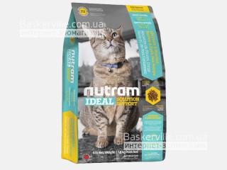 I12 Nutram Ideal Solution Support Weight Control Сухой корм для взрослых котов, склонных к ожирению