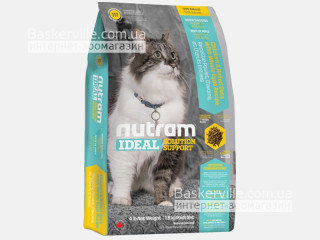 I17 Nutram Ideal Solution Support Finicky Indoor Cat Сухой корм для привередливых котов, содержащихся преимущественно в помещении