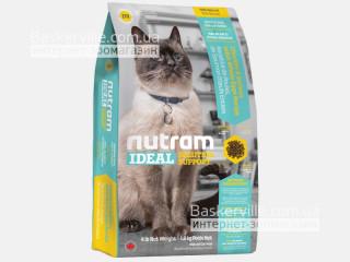 I19 Nutram Ideal Solution Support Sensitive Coat, Skin, Stomach Сухой корм для чувствительных кошек с проблемами кожи, шерсти и желудка