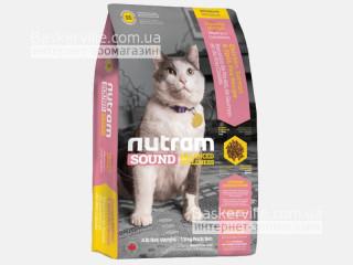 S5 Nutram Sound Balanced Wellness Natural Adult & Senior Cat Food Сухой корм для взрослых и пожилых котов