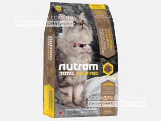T22 Nutram Total Grain-Free Turkey & Chiken Сухой корм для кошек без злаков с индейкой и курицей