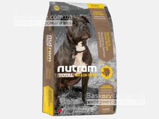 T25 Nutram Total Grain-Free Salmon & Trout Сухой корм для собак с Лососем и Форелью