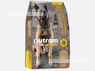 T26 Nutram Total Grain-Free Lamb & Lentils Сухой корм для собак с ягненком и чечевицей