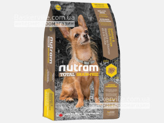 T28 Nutram Total Grain-Free Salmon & Trout Small Breed Сухой корм беззлаковый с Лососем и Форелью для мелких пород собак