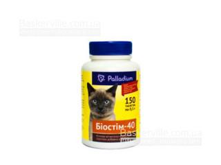 """Palladium. Белковая минерально-витаминная кормовая добавка для котов """"Биостим-40"""""""
