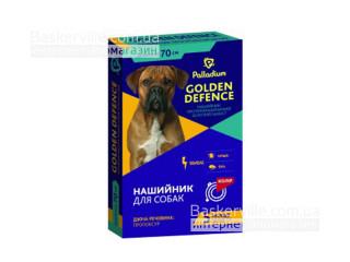 Palladium. Golden Defence. Ошейник от блох и клещей для собак, 70 см