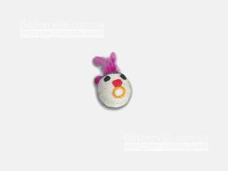 Когтеточка-шарик Мордочка с пером (6,5см)