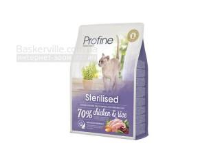 Profine. Cat Sterilised. Высококачественный сухой корм для стерилизованных кошек, 2 кг