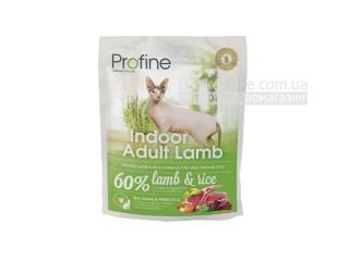 Profine. Indoor. Adult Lamb. Высококачественный сухой корм для взрослых кошек против образования комков шерсти