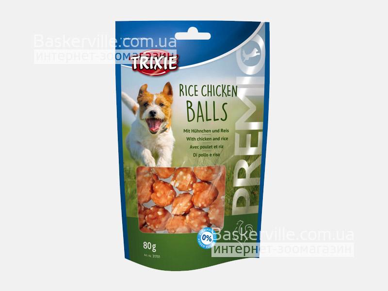 Trixie. Лакомство для собак с рисом и курицей Premio Rice Chicken Balls, 80г