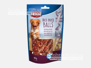 Trixie. Лакомство для собак с рисом и уткой Premio Rice Duck Balls, 80г