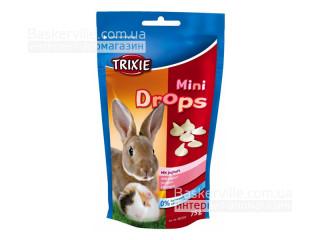 Trixie Mini Drops Витамины для грызунов Йогурт, 75г