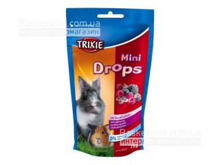Trixie Mini Drops Витамины для грызунов Лесные ягоды, 75г