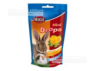Trixie Mini Drops Витамины для грызунов Одуванчик, 75г