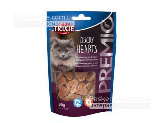 """Trixie. 42705 Лакомство для кошек """"PREMIO Hearts"""" утка и минтай, 50г"""