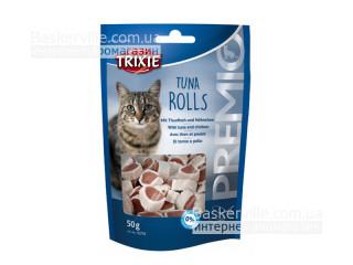 Trixie. Лакомство для кошек PREMIO Tuna Rolls, 50г