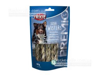 Trixie. Лакомство для собак с рыбой Sushi Twisters, 60 г