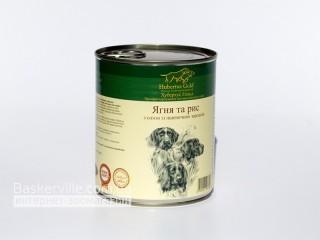 Консервированный корм для собак. Hubertus Gold. Ягненок и рис