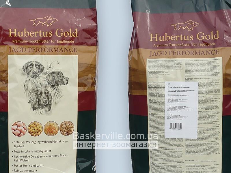 Сухой корм для собак. Hubertus Gold Jagd Performance 15 кг