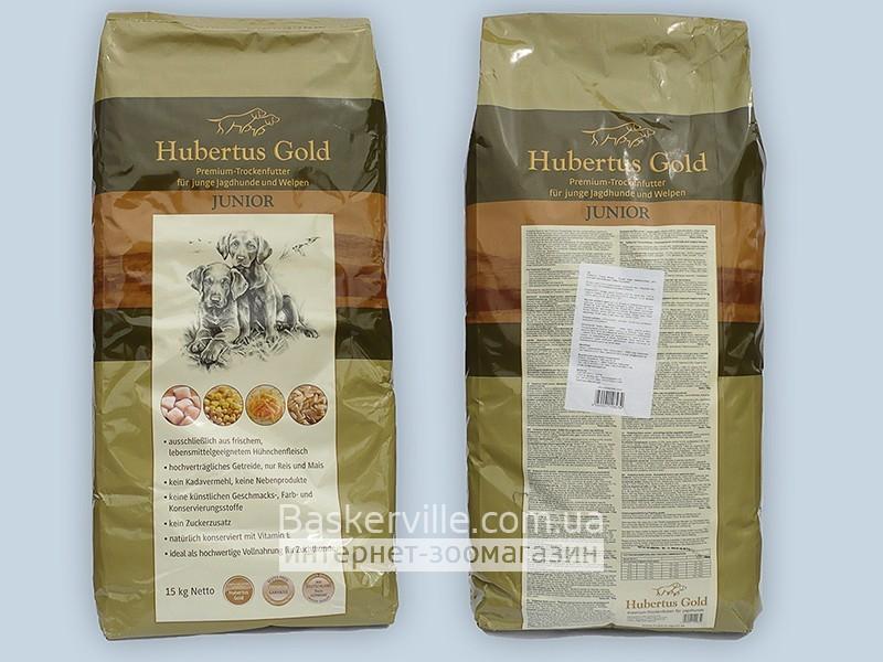 Сухой корм для щенков. Hubertus Gold Junior 14 кг