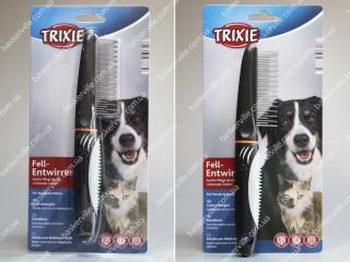 Расческа с переменным вращающимся зубом для собак и котов