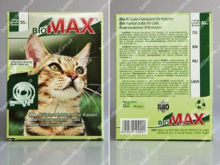 BioMAX био-ошейник для котов (35 см)