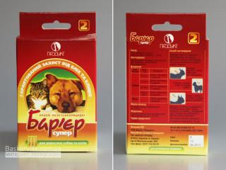Барьер супер капли инсектоакарицидные для взрослых собак и котов