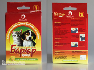 Барьер супер капли инсектоакарицидные для щенков и котят