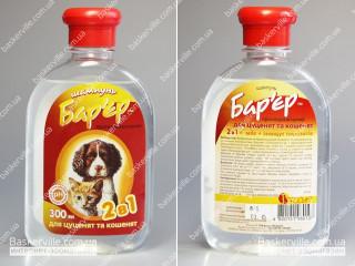 Барьер протипаразитный шампунь для щенков и котят 3 в 1