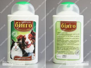 Бинго шампунь дерматологический для котов и собак