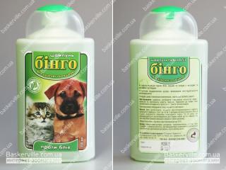 Бинго шампунь от блох для щенков и котят