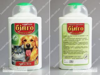 Бинго шампунь против блох для котов и собак